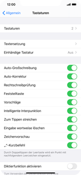 Apple iPhone 11 Pro Max - Startanleitung - So fügen Sie eine Tastatursprache hinzu - Schritt 5