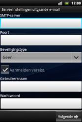 Sony Ericsson Xperia Mini Pro - E-mail - handmatig instellen - Stap 8