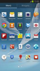 Samsung Galaxy Note II - Netzwerk - Manuelle Netzwerkwahl - Schritt 3
