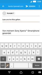 Sony Xperia M4 Aqua - E-Mail - E-Mail versenden - 1 / 1