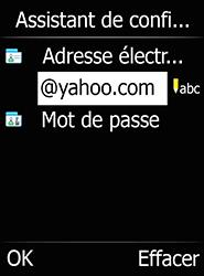 Doro 6520 - E-mails - Ajouter ou modifier votre compte Yahoo - Étape 11