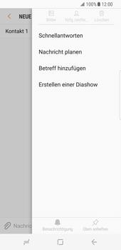 Samsung Galaxy S8 - MMS - Erstellen und senden - Schritt 11