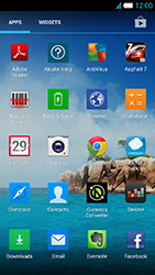 Alcatel One Touch Idol S - Internet and data roaming - Manual configuration - Step 19
