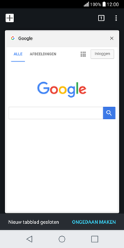 LG Q6 - internet - hoe te internetten - stap 17