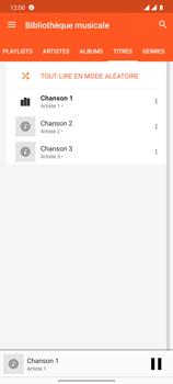 OnePlus 7T - Photos, vidéos, musique - Ecouter de la musique - Étape 8
