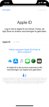Apple iPhone XS Max - iOS 13 - toestel resetten - back-up maken met jouw account - stap 6