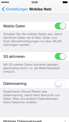 Apple iPhone 5c - Ausland - Auslandskosten vermeiden - Schritt 7