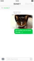 Apple iPhone 6 iOS 10 - MMS - Erstellen und senden - Schritt 18