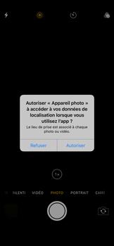Apple iPhone XR - Photos, vidéos, musique - Prendre une photo - Étape 3