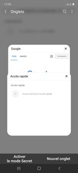 Samsung Galaxy Note 10 Lite - Internet et connexion - Naviguer sur internet - Étape 17