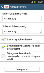Samsung Galaxy S3 Mini VE (I8200N) - E-mail - Account instellen (IMAP met SMTP-verificatie) - Stap 18