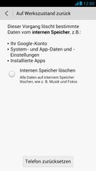 Huawei Ascend G526 - Fehlerbehebung - Handy zurücksetzen - Schritt 8