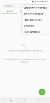 Samsung Galaxy A7 (2018) - voicemail - handmatig instellen - stap 6