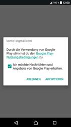 Sony Xperia XA1 - Apps - Konto anlegen und einrichten - Schritt 18