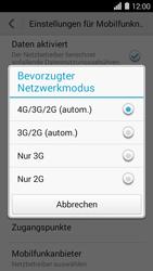 Huawei Ascend Y550 - Netzwerk - Netzwerkeinstellungen ändern - Schritt 5