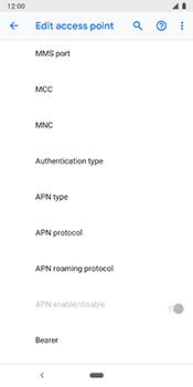 Google Pixel 3 - Internet - Manual configuration - Step 16