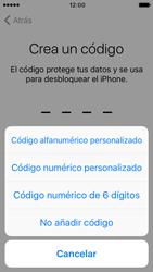 Apple iPhone SE iOS 10 - Primeros pasos - Activar el equipo - Paso 12
