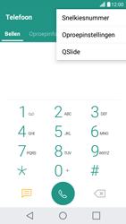 LG LG X Screen - voicemail - handmatig instellen - stap 4