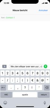 Apple iPhone X - MMS - Afbeeldingen verzenden - Stap 7