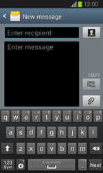 Samsung I8730 Galaxy Express - MMS - Sending pictures - Step 4