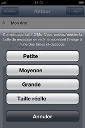 Apple iPhone 4 S - iOS 6 - E-mail - envoyer un e-mail - Étape 11