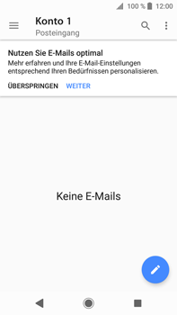 Sony Xperia XA2 Ultra - E-Mail - Konto einrichten - 5 / 25