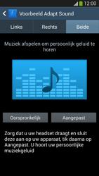 Samsung I9505 Galaxy S IV LTE - Adapt Sound - Adapt Sound instellen - Stap 10