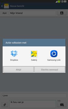 Samsung T315 Galaxy Tab 3 8-0 LTE - MMS - afbeeldingen verzenden - Stap 14