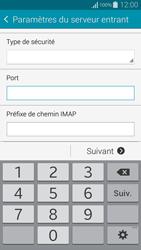 Samsung G850F Galaxy Alpha - E-mail - Configuration manuelle - Étape 11