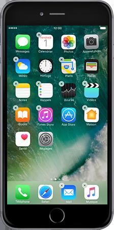 Apple iPad mini 4 iOS 10 - iOS features - Liste des nouvelles fonctions - Étape 7