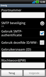 LG P970 Optimus Black - e-mail - handmatig instellen - stap 10