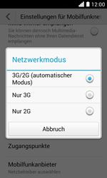Huawei Ascend Y330 - Netzwerk - Netzwerkeinstellungen ändern - 2 / 2