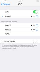 Apple iPhone 6 Plus iOS 8 - WiFi - Configuration du WiFi - Étape 9