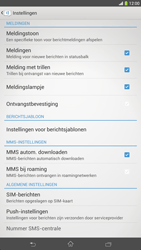 Sony C6833 Xperia Z Ultra LTE - sms - handmatig instellen - stap 8