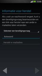 HTC One - Applicaties - Account instellen - Stap 12