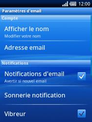 Sony Ericsson Xperia X10 Mini - E-mail - configuration manuelle - Étape 10