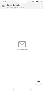 Huawei P20 Pro - Android Pie - E-mail - 032c. Email wizard - Outlook - Fase 7