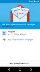 Sony Xperia XA - Android Nougat - E-mail - e-mail instellen (gmail) - Stap 15