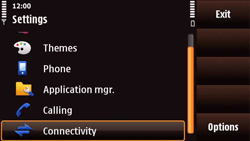 Nokia N97 Mini - MMS - Manual configuration - Step 4