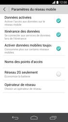 Huawei Ascend P6 - Internet et roaming de données - Désactivation du roaming de données - Étape 5