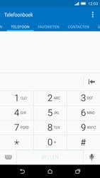 HTC One M9 - voicemail - handmatig instellen - stap 5