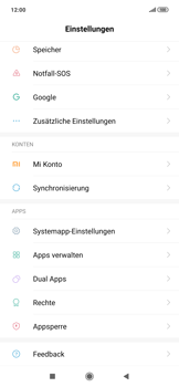 Xiaomi RedMi Note 7 - Apps - Eine App deinstallieren - Schritt 3