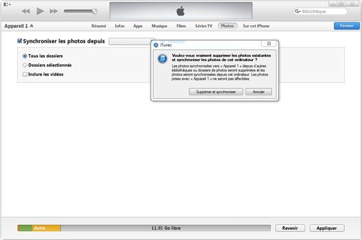 Apple iPhone 11 - Photos, vidéos, musique - Récupérer vos contenus multimédias avec un ordinateur - Étape 8