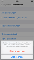 Apple iPhone 5c - Fehlerbehebung - Handy zurücksetzen - 9 / 11
