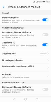 Huawei Y7 (2018) - Internet et roaming de données - Désactivation du roaming de données - Étape 6