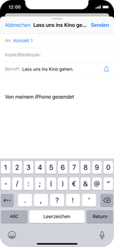 Apple iPhone XS - E-Mail - E-Mail versenden - 7 / 16