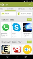 Sony Xperia Z3 - Apps - Installieren von Apps - Schritt 5