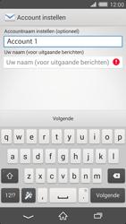 Sony Xperia Z2 4G (D6503) - E-mail - Handmatig instellen - Stap 18