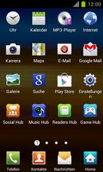 Samsung Galaxy S II - Netzwerk - Manuelle Netzwerkwahl - Schritt 3