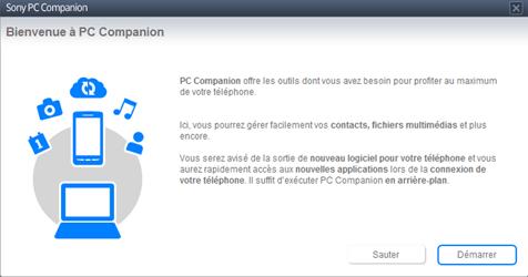Sony Xperia Z1 - Logiciels - Installation du logiciel de synchronisation PC - Étape 6